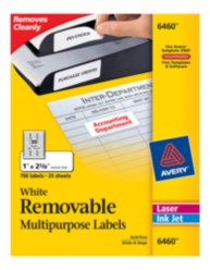 Avery ID Labels 6461 Packaging Image
