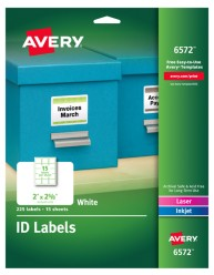 Avery Multipurpose Labels 6572