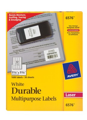 Durable Multipurpose Labels 6576