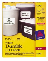 Avery Durable I.D. 6579 Packaging Image