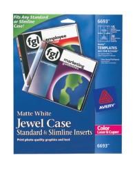 Avery CD Jewel Case Inserts