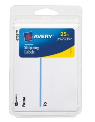 Avery® To & From Shipping Labels 06735, Packaging Image