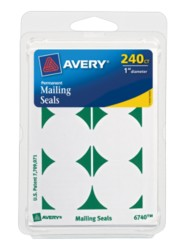 Avery® Mailing Seals 6740, Packaging Image