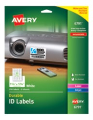 Avery Durable ID Labels 06791 packaging
