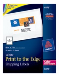 Avery Print-to-the-Edge Label 6876 Packaging Image