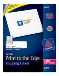 Avery Print-to-the-Edge Label 6879 Packaging Image