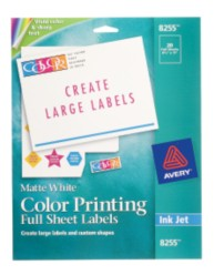 Color Printing Labels