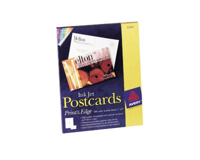 Ink Jet Print-to-the-Edge Postcards 8386