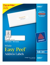 Avery Easy Peel White Address Labels 8461Packaging Image