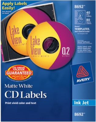 Avery CD Labels 8692
