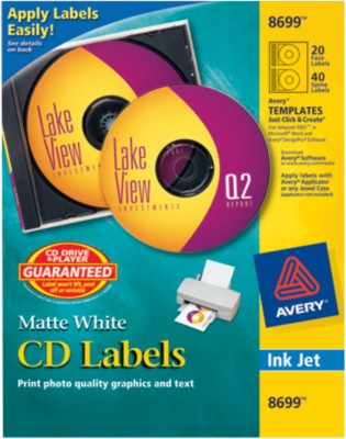 Avery CD Labels 8699
