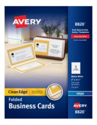 Avery Business Cards 8820 Package Image