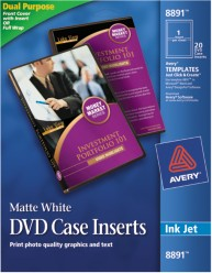 Avery DVD Case Inserts