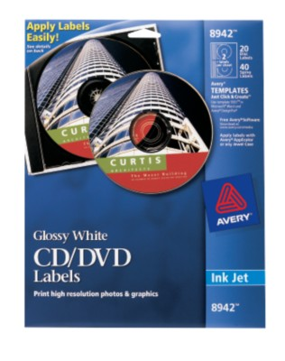 Avery CD Labels 8942
