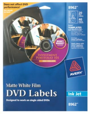 DVD Labels 8962