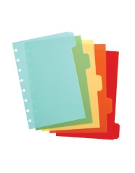 Martha Stewart Home Office™ with Avery™ Discbound Plastic Dividers 10054, Assorted, Classic, Application Image