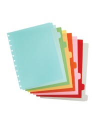 Martha Stewart Home Office™ with Avery™ Discbound Plastic Dividers 10055, Assorted, Classic, Application Image