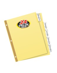 Avery® WorkSaver® Big Tab™ Insertable Dividers 11113, Packaging Image