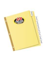 Avery® Big Tab™ Insertable Dividers 11115, Packaging Image