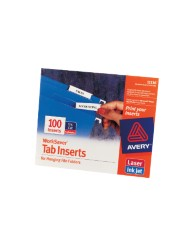 Tab Inserts for Hanging File Folders