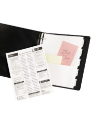 WorkSaver Pocket Dividers with Insertable Tabs