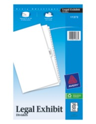 Avery® Premium Collated Legal Dividers Avery Style 11373, Packaging Image