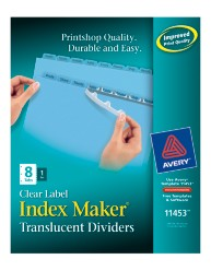 Avery® Index Maker® Clear Label Dividers 11453, Packaging Image