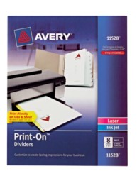 Avery® Print-On™ Dividers 11529, Packaging Image