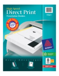 Avery Direct Print High Speed Presentation Dividers 11541