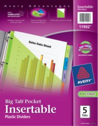 Avery Dividers 11902 Packaging Image