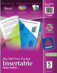 Avery Dividers 11906 Packaging Image