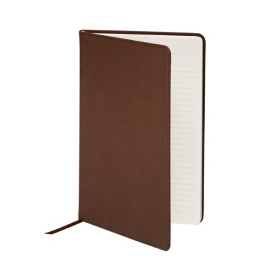 "MSHO - Leatherette Journal, 5-1/2""x8-1/2"", Brown 14851"