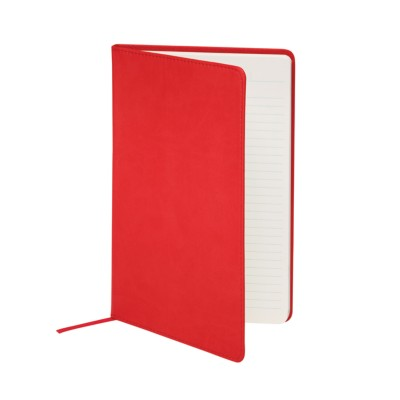 "MSHO - Leatherette Journal, 5-1/2""x8-1/2"", Red 14853"