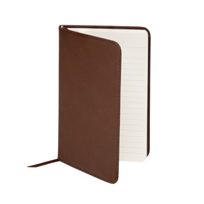 "MSHO - Leatherette Journal, 4""x6"", Brown 14856"
