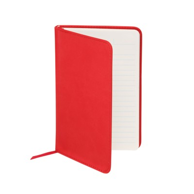 "MSHO - Leatherette Journal, 4""x6"", Red 14858"