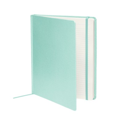 "MSHO - Shagreen Journal 8""x10"", Blue 14870"