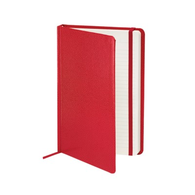 "MSHO - Shagreen Journal 5-1/2""x8-1/2"", Red 14874"