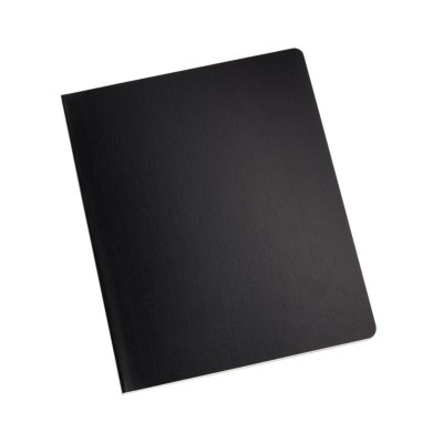 "MSHO - Stitched Notebook, 8""x10"", Black 14905"