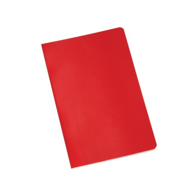 "MSHO - Stitched Notebook, 5-1/2""x8-1/2"", Red 14911"