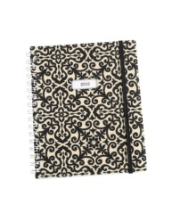 Martha Stewart Home Office™ with Avery™ 2013 Wirebound Planning Calendar 14957, Black Brocade, Application Image