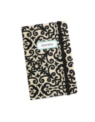 Martha Stewart Home Office™ with Avery™ 2013-2014 Pocket Calendar 14958, Black Brocade, Application Image