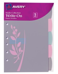 Studio Collection Write-on Dividers Spring Leaves 16187, Packaging Image