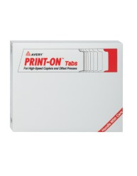 Tab Dividers for Copiers, Double Reverse Collated