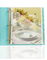 Martha Stewart Home Office™ with Avery™ Plastic Dividers with Pockets 21150, Application Image