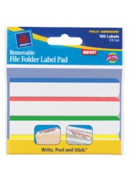 Avery Removable File Folder Label Pad 22026 Packaing Image