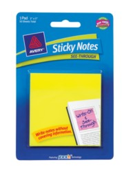Avery Sticky Notes 22585 Packaging Image