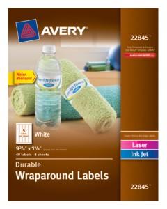 Wraparound Labels 22845