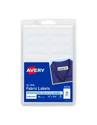 Avery No-Iron Fabric Labels 40720