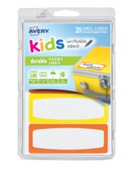 Avery® Durable Labels for Kids' Gear 41412, Packaging Image
