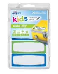 Avery® Durable Labels for Kids' Gear 41413, Packaging Image
